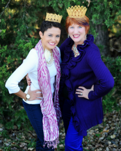 Princess Diana and Darlene Drew co-founders of SunburstGifts.org