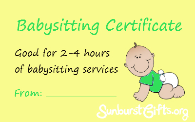 Search results for free babysitting certificate christmas gift calendar 2015 for Babysitting gift certificate