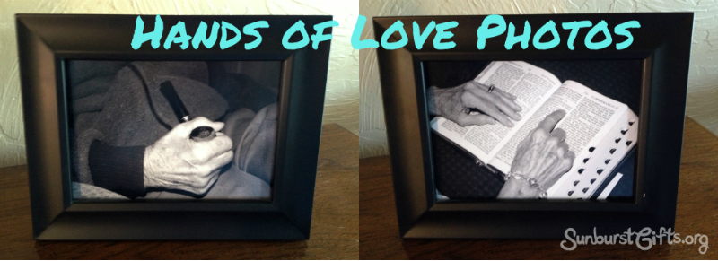 Hands of Love Photos Gift Idea