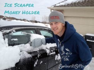 Icescraper Money Holder Gift Idea