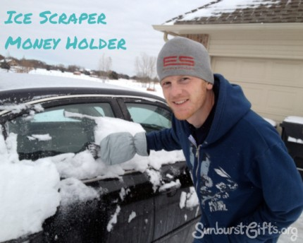 Icescraper Money Holder Gift Idea