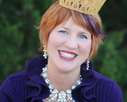 Queen Darlene (Darlene Drew) co-founder of Sunburst Gifts
