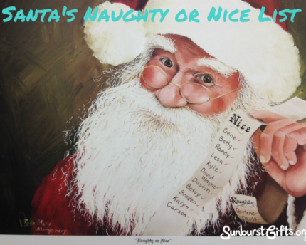 Santa's Naughty or Nice List Gift Idea