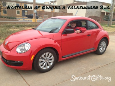 Volkswagen Bug rental car gift