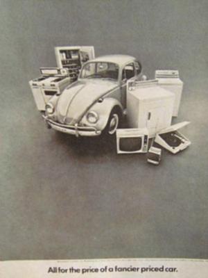 Volkwagen Beetle ad