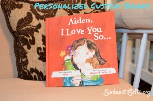 Personalized Custom Book Gift Idea