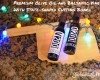 Premium Olive Oil and Balsamic Vinegar With State-shaped Cutting Board Gift Idea for Cooks