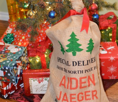 Santa Sack Family Tradition Gift Idea