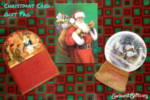 Christmas Card Gift Tag Gift Idea