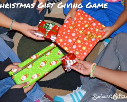 Christmas gift giving game Dirty Santa White Elephant Gift Exchange