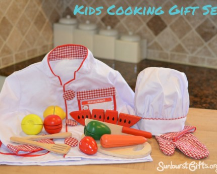 Establishing Healthy Eating Habits - Kids Cooking Gift Set