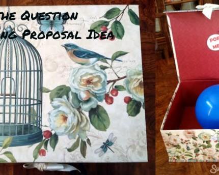 POP the Question Wedding Proposal Idea
