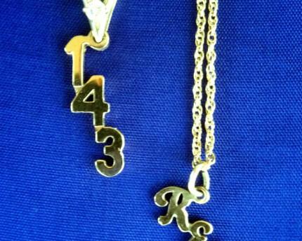 secret code i love you necklace valentine's day gift