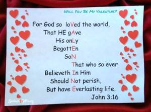 Will You Be My Valentine Gift Idea