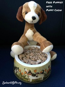 Free-Puppies-with-Puppy-Chow-gift-idea-sunburst-gifts