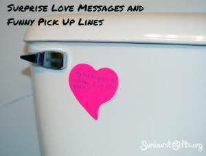 diarrhea funny pick up line gift idea