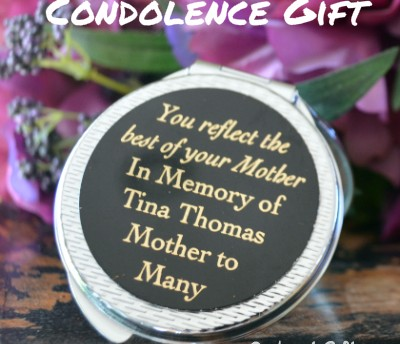condolence gift idea for best friend when mother dies