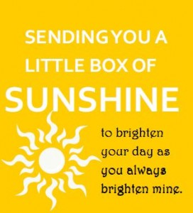 Download this Box of Sunshine gift tag