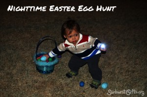Nighttime Easter Egg Hunt