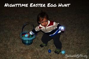 Nighttime Easter Egg Hunt
