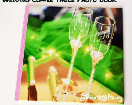 Wedding Coffee Table Photo Book