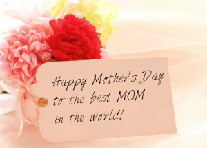 sweet message for Mother's Day