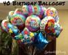40 birthday balloons