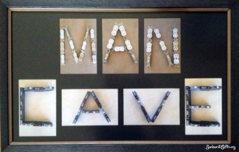 Personalised Man Cave Gifts : Personalized man cave photos for father s day gift