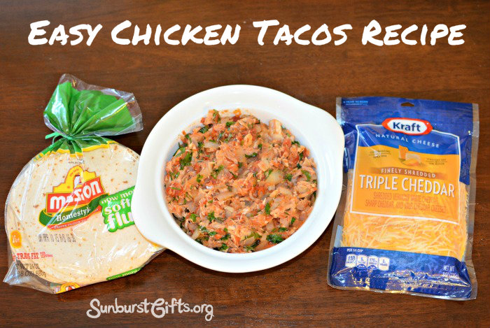 Dropping Off Meals for New Parents | Easy Chicken Tacos Recipe