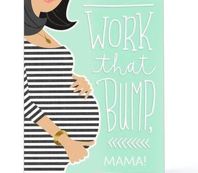 pregnancy-baby-bump-contratulations-card