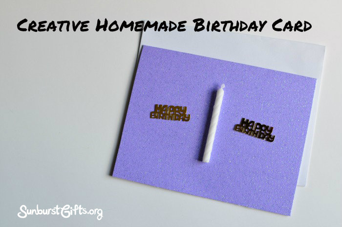 Creative Inexpensive Homemade Birthday Cards Thoughtful Gifts