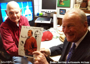 Barry-Switzer-autograph-picture-birthday-thoughtful-gift-idea