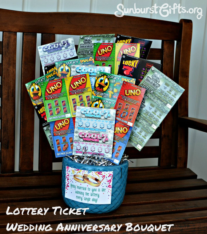 lottery ticket as gift FOR TEACHER | just b.CAUSE