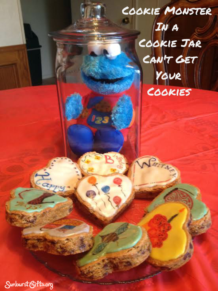 Cookie Monster In A Cookie Jar Thoughtful Gifts