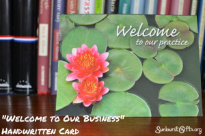 welcome-to-our-business-handwritten-card-thoughtful-gift