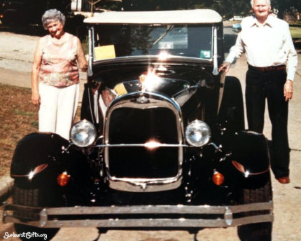 1928-model-A-car-ride-60th-wedding-anniversary-thoughtful-gift-idea
