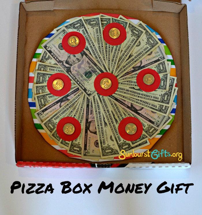 Пицца из денег подарок фото 2