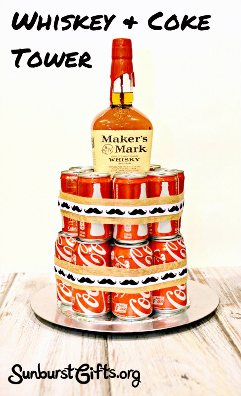 whiskey-coke-tower-gift-for-him