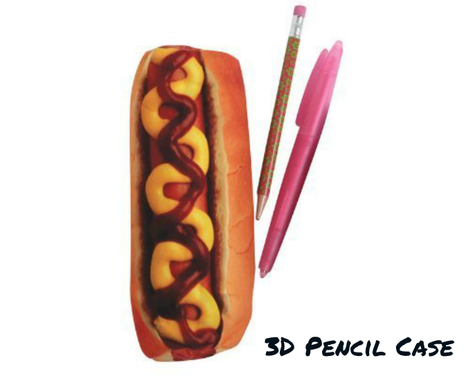 Back to school 3d food pencil cases thoughtful gifts for 3d cuisine boe