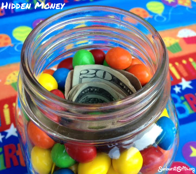 M&M-hidden-money-jar-thoughtful-gift-idea