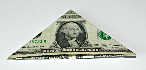 money-crown-creative-gift-triangle