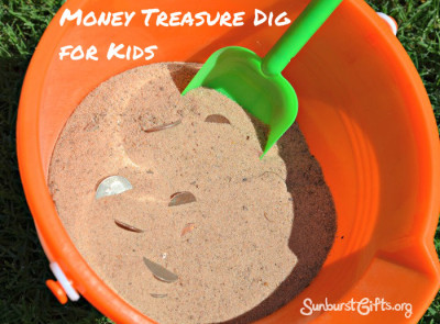 money-treasure-dig-kids-gift