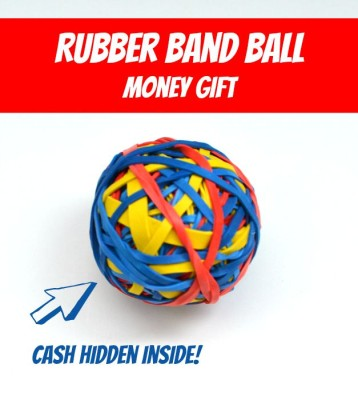 rubber-band-ball-creative-money-gift