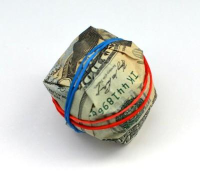 rubber-band-ball-creative-money-gift
