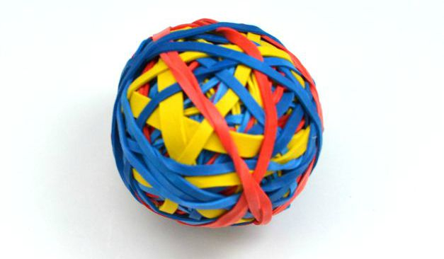 Rubber Band Ball Creative Money Gift Thoughtful Gifts