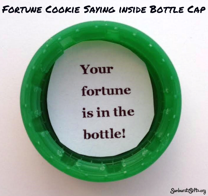 2 Liter Fortune Bottle - Thoughtful Gifts | Sunburst ...