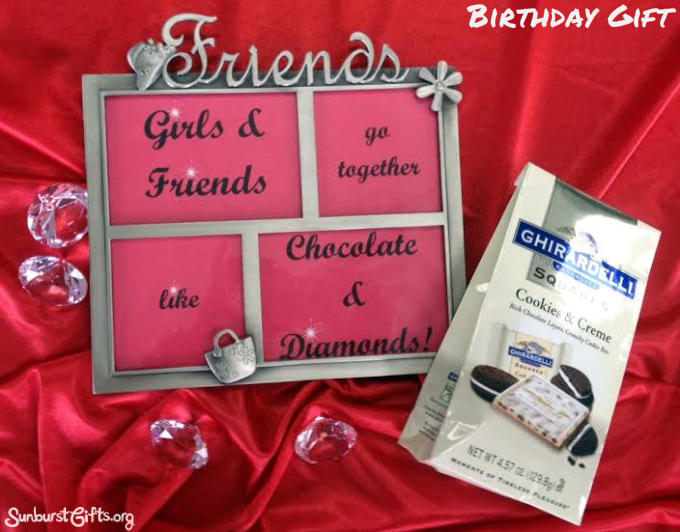 Girlfriends Go Together Like Chocolate Diamonds Thoughtful Gift