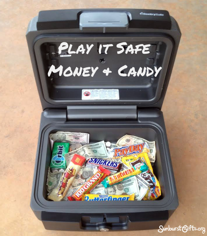 Play It Safe Money Amp Candy Gift Thoughtful Gifts
