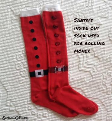 Santa's-socks-money-stocking-stuffer-thoughtful-gift-idea