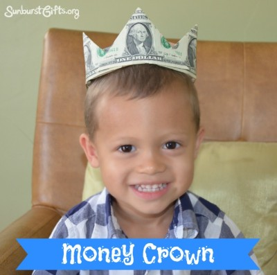 money-crown-creative-cash-gift